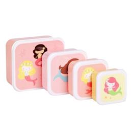 Lunchboxset Zeemeerminnen - A Little Lovely Company