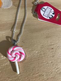 Ketting Swirl Lolly Snoepig