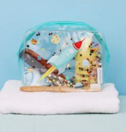 Toilettasje Glitter Ruimte - A Little Lovely Company