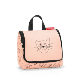 Toilettas S Cats and Dogs Roze - Reisenthel