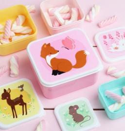 Lunchboxset Bosvriendjes - A Little Lovely Company