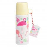 Thermosfles met beker Flamingo - Rex London