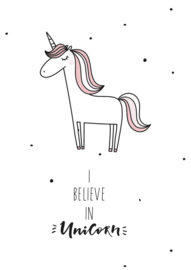 Poster I Believe in Unicorn