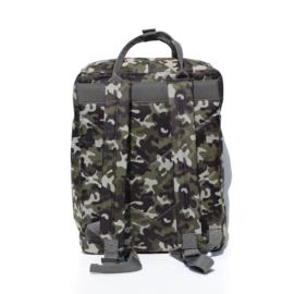 Rugzak Camouflage Grijs - Popqorn