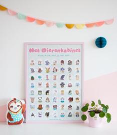 Poster Het Dierenkabinet XXL (Spelletjes Poster)