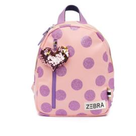 Rugzak Glitterdots Pink (S) - Zebra Trends