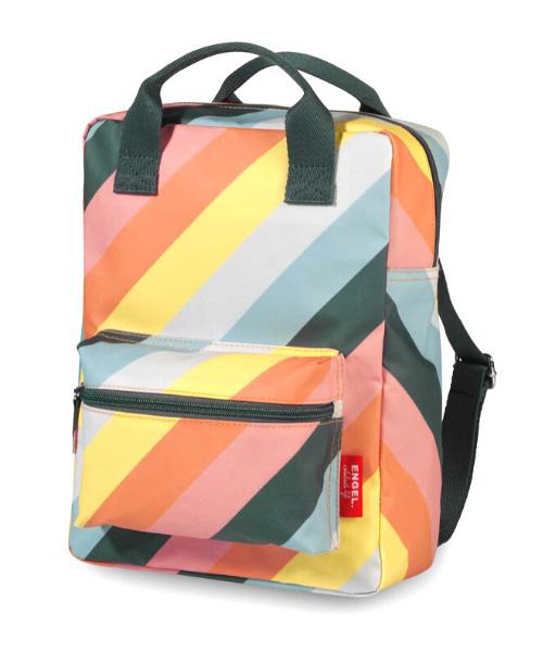 Rugzak Stripe Rainbow medium - Engel.