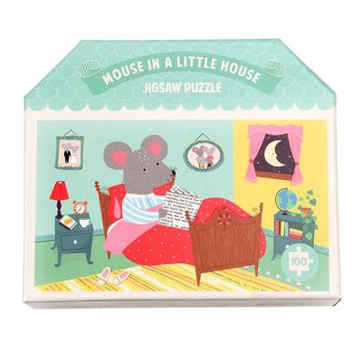 Puzzel Mouse in a little house - Rex London