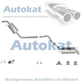 VW T4 2.5diesel 95-03 inclusief katalysator SET-3261