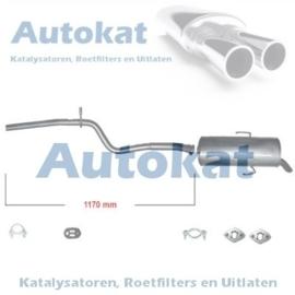 Peugeot-106 1.0i/1.1i/1.5D 91- --> SET-3194