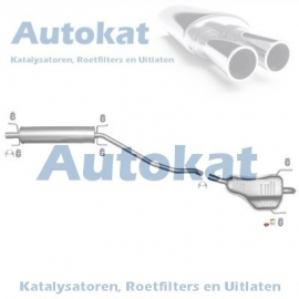 Opel Astra H 1.6i/1.8i 04- SET-3165