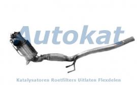 Volkswagen Jetta 1.6 2.0 TDI 05-10 DPF-5113