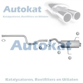 Peugeot-607 2.0HDi/2.2HDi  00-04 SET-3204