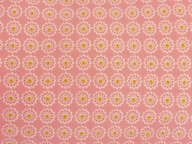 """Voedingskussenhoes """"Bloemen roze"""""""