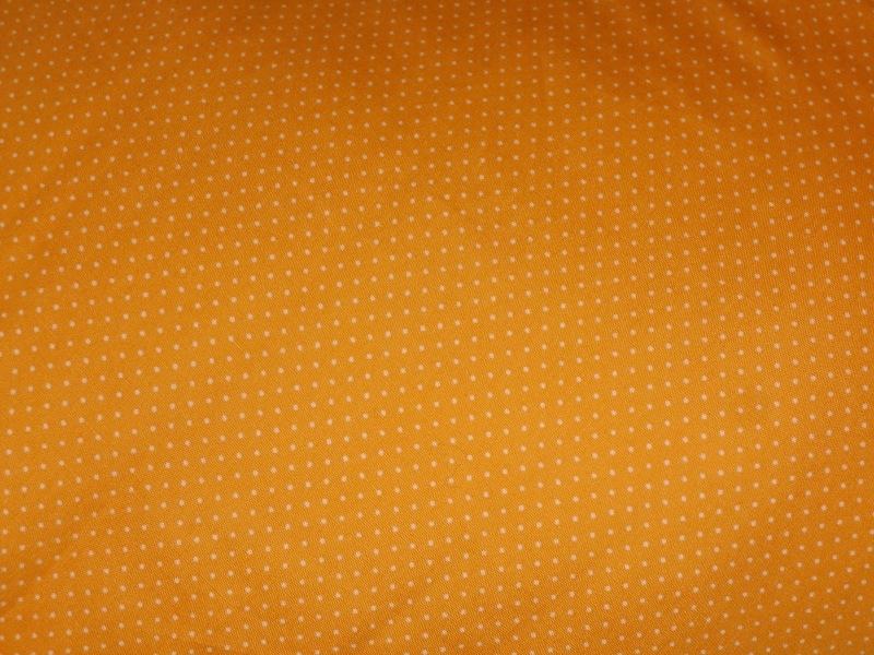 """Voedingskussenhoes """"Oranje met kleine witte stipjes"""""""