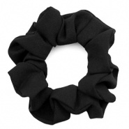 SCRUNCHIE HAARELASTIEK - /	VELVET BLACK