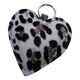 LEATHER HEART XL - / HANNA