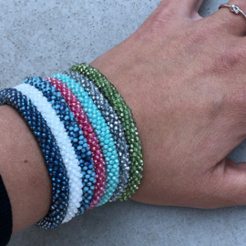 ARMBAND LITTLE SPARKLES  -  MIX BLAUW