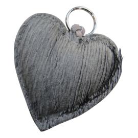 LEATHER HEART XL - / OLIVIA