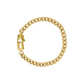 schakelarmband Lina goud