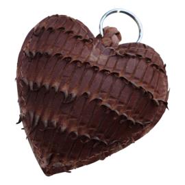 LEATHER HEART XL - / LOLA