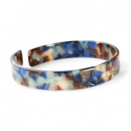 ARMBAND RESIN LOOSE FIT- /MIX BLAUW SMALL