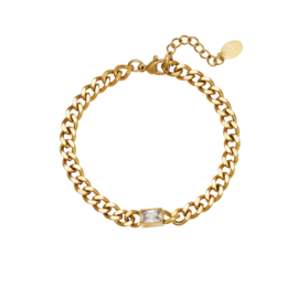 Armband diamond goud