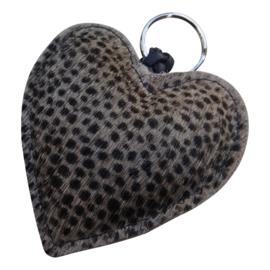LEATHER HEART XL - / VERA