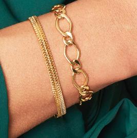 Armband Snaky Chain Goud