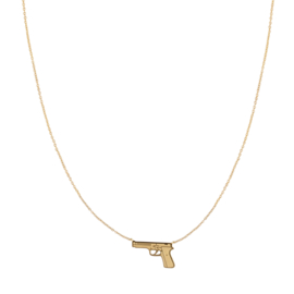 KETTING DRESS TO KILL -/ GOUD