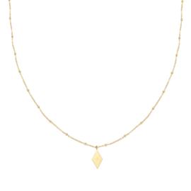 KETTING SPARKLE ON -/ GOUD