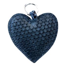 LEATHER HEART XL - / MARISKA