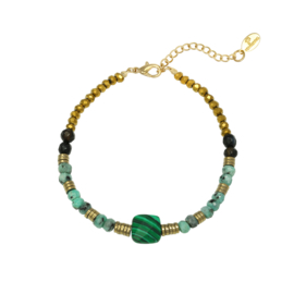 ARMBAND NATURAL BEAUTY - / TURQUOISE