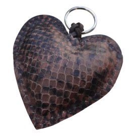 LEATHER HEART XL - / MIEKE