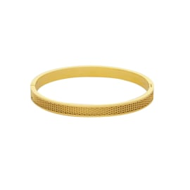 Bangle rasterline goud