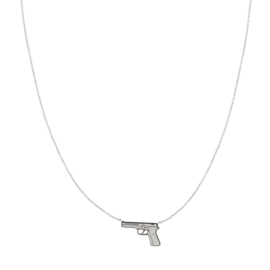KETTING DRESS TO KILL - ZILVER