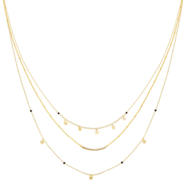 KETTING FAMOUS STAR - / GOUD