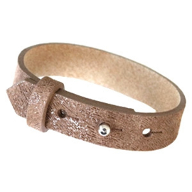 LEATHER BRACELET - / 15 COLORS