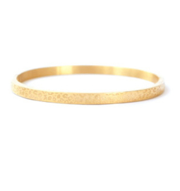 Bangle panter print small goud