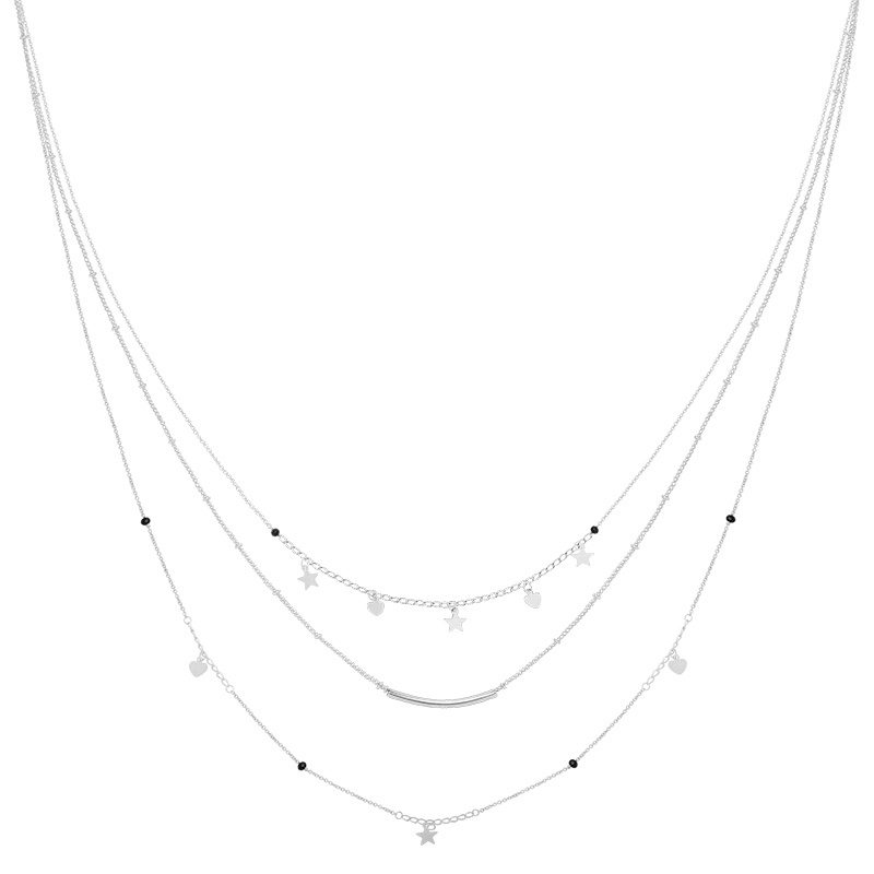 KETTING FAMOUS STAR - / ZILVER