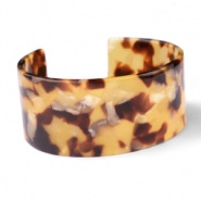 ARMBAND RESIN LOOSE FIT - / COGNAC  BRUIN