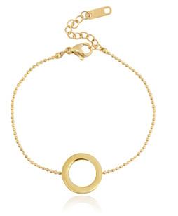 BRACELET CIRCLE - / GOLD
