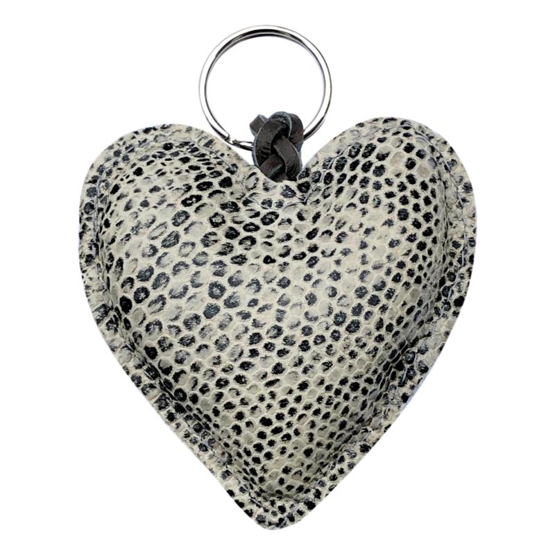 LEATHER HEART XL - / LYNN