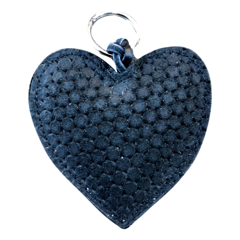 LEATHER HEART XL - / MARISKA