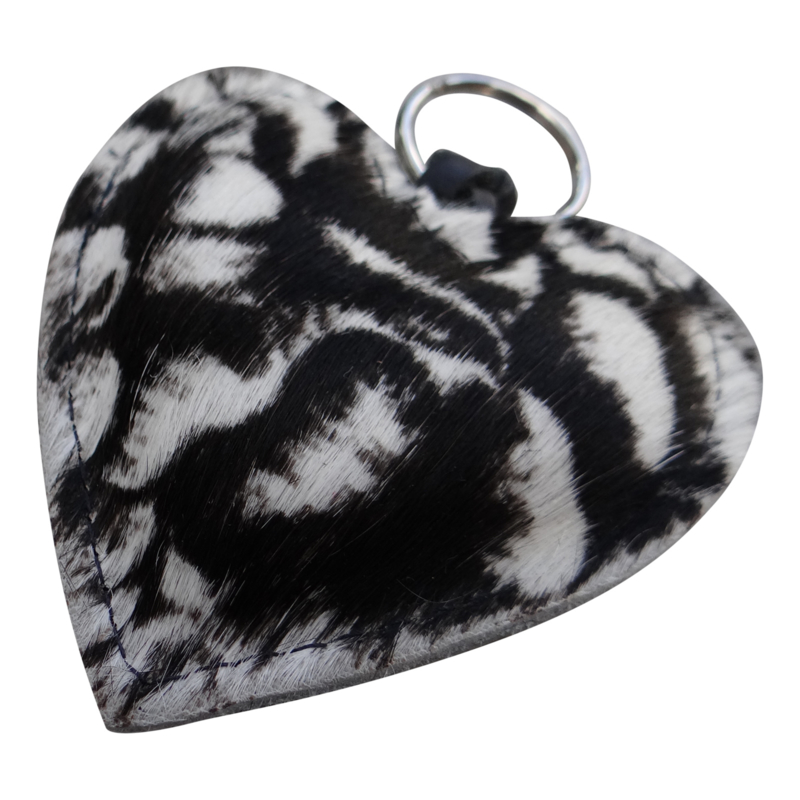 LEATHER HEART XL - / NINA