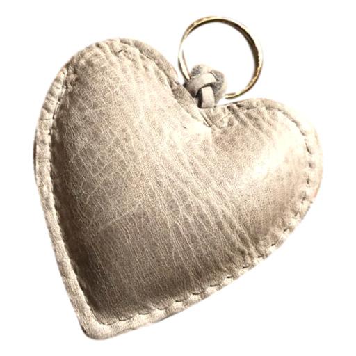 LEATHER HEART XL - / EVI