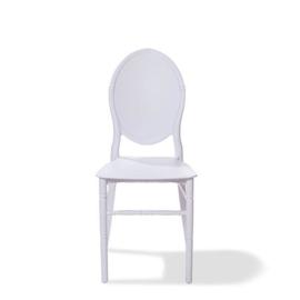 50601 - Stapelbare kunststof (Polypropeen) stoelen Medaillon wit VEBA