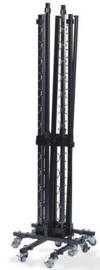 T91700 - Trolley Garderobes klein is een VEBA oplossing wanneer een klein aantal kapstokken