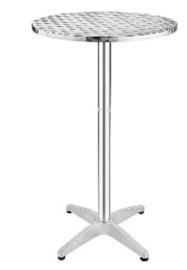 U502 -Bolero ronde RVS statafel 60cm
