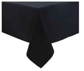 HB562 -Mitre Essentials Ocassions tafelkleed zwart -90x90cm.